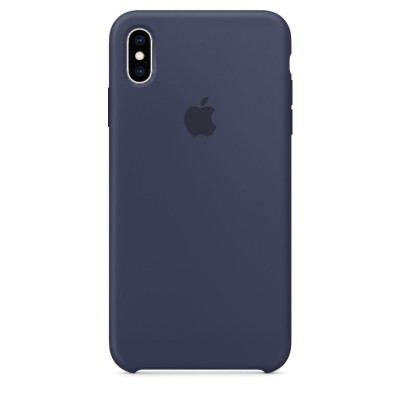 Silicone Case Apple iPhone X (Midnight blue)