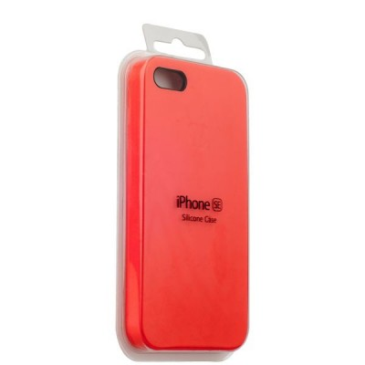 Silicone Case Apple iPhone 5/5S/5E (Red)