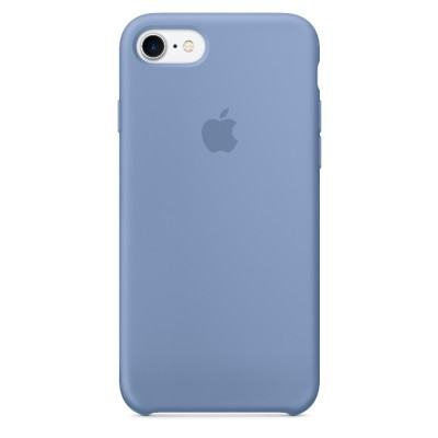 Silicone Case Apple iPhone 7/8 (Azure)