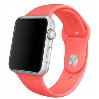 Ремешок для Apple Watch 42mm Silicone (Rose)