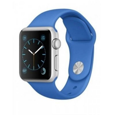 Ремешок для Apple Watch 38mm Silicone (Royal Blue)